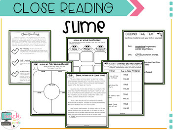 2nd GRADE Close Reading Passages and Questions with Comprehension Activities
