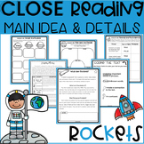 2nd Grade MAIN IDEA Reading Comprehension Passages and Question Activities