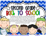 SECOND GRADE - FIRST DAYS (GETTING ACQUAINTED)