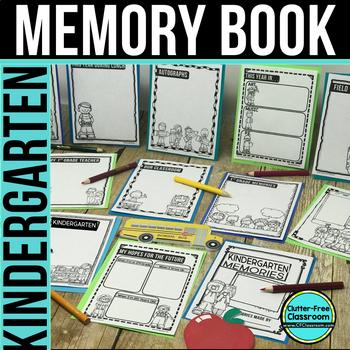KINDERGARTEN MEMORY BOOK - 50% OFF TODAY ONLY