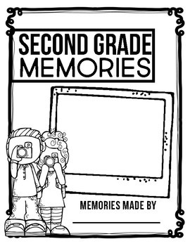 SECOND GRADE MEMORY BOOK - 50% OFF TODAY ONLY