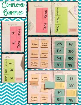 SECOND GRADE Math Interactive Notebook Bundle- Activities for Young Math Minds