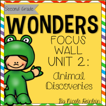 SECOND Grade Reading Wonders Unit 2 Focus Wall