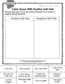 Second Step 1st Grade 21 Lesson Worksheets By Behavior Savers Tpt
