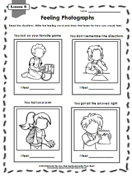 SECOND STEP 2nd GRADE-21 Lesson Worksheets