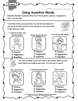 SECOND STEP 4th GRADE-21 Lesson Worksheets