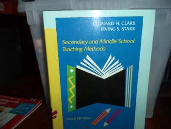 SECONDARY AND MIDDLE SCHOOL TEACHING METHODS ISBN 0-02-322640-4