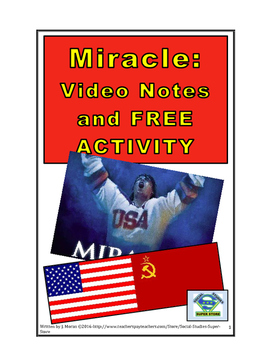 SECONDARY- Miracle Movie Guide and FREE ACTIVITY