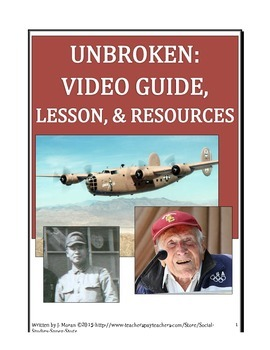 SECONDARY-Movie Guide-UNBROKEN
