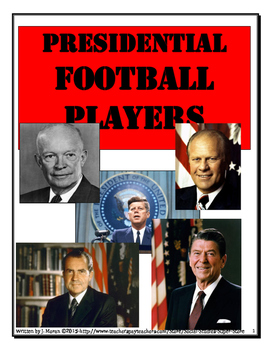 SECONDARY - Presidential Football Players