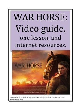 SECONDARY-Movie Guide to WAR HORSE