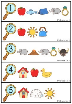 Secret Code Sight Words - 1st Grade Edition