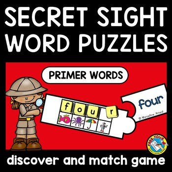 SIGHT WORDS PUZZLES: CRACK THE CODE ACTIVITY: SIGHT WORD GAMES