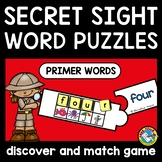 SECRET SIGHT WORDS CRACK THE CODE ACTIVITY