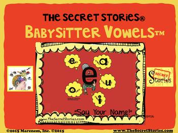 SECRET STORIES® Babysitter Vowels™ Phonics Secret!