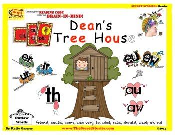 "SECRET STORIES® Guided Reader- ""Dean's Treehouse"" (w/ Phonics Secrets!)"
