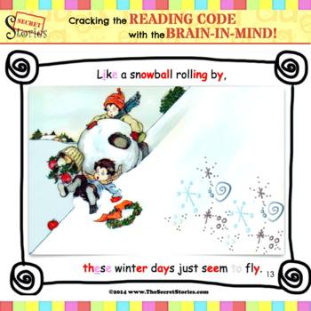 "SECRET STORIES® Guided Reader- ""Like a Snowball"" (w/ Phonics Secrets!)"