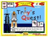 """SECRET STORIES® Guided Reader- """"Troy's Quest!"""" (w/ Phonics Secrets!)"""