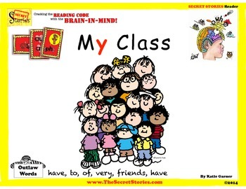 "SECRET STORIES® Guided Readers- ""My Class"" (w/ Phonics Secrets!)"