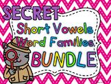 SECRET WORDS BIG BUNDLE of Short Vowels Word Families