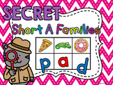 SECRET WORDS Short A Word Families Centers