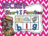 SECRET WORDS Short I Word Families Centers