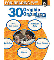 30 Graphic Organizers for Reading Grades 3-5