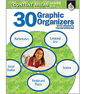 30 Graphic Organizers for the Content Areas Grades 3-5