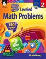 50 Leveled Math Problems: Level 2
