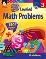 50 Leveled Math Problems: Level 3