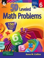 50 Leveled Math Problems: Level 6