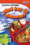 ��Cuenta conmigo! ��Qu̩ hay de almuerzo? (Count Me In! What's For Lunch?) (Spanish Version)