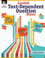Leveled Text-Dependent Question Stems