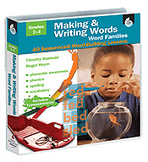 Making & Writing Words: Word Families Grades 2-4 (Enhanced eBook)
