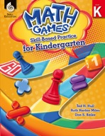 Math Games: Skill-Based Practice for Kindergarten