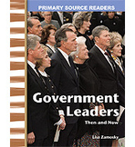 Primary Source Readers My Community: Government Leaders Then and Now (Enhanced eBook)