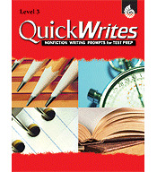 Quick Writes Level 3