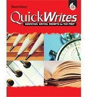 Quick Writes Secondary