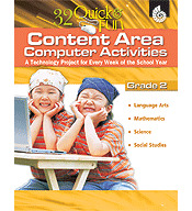 Quick and Fun Content Area Computer Activities Grade 2