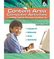 Quick and Fun Content Area Computer Activities Grade 4