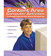 Quick and Fun Content Area Computer Activities Grade 5