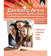 Quick and Fun Content Area Computer Activities Middle School