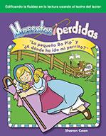 """Mascotas perdidas: """"La peque̱a Bo Pip"""" y """"��A d�_nde ha ido mi perrito?"""" (Lost Pets: Little Bo Peep and Where Has My Little Dog Gone?)"""