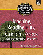 Teaching Reading in the Content Areas for Elementary Teachers