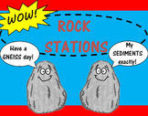 SCIENCE STATIONS:  ROCKS - Great for Observations!