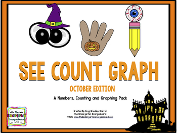 SEE COUNT GRAPH:  October Edition!  A Common Core Math And