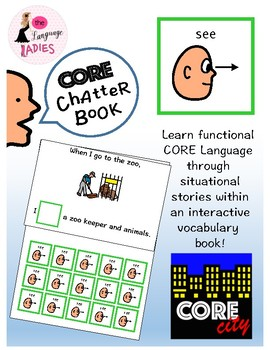 SEE: Interactive CORE City Chatter Book