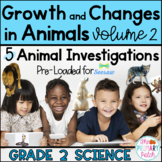 SEESAW™ Animal Research Projects: Grade 2 Science [Part 2]