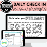 SEESAW Daily Check In Prompts / Wellbeing Online Distance