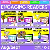 Engaging Readers   August/September Books   Printable and Digital
